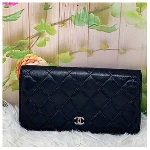 Authentic Chanel Cambon Line Wallet